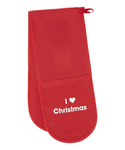 I 'heart' Christmas oven gloves