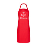 queen of christmas apron