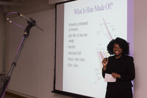 Trichologist at Afrocenchix Professional Natural Hair Workshop