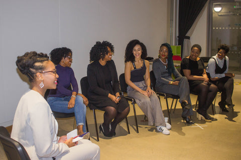 Blogger and Hairdresser Panel Afrocenchix Professional Natural Hair Workshop