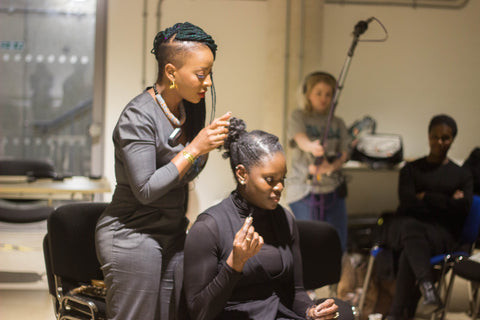 Top Hair Stylist at Afrocenchix Professional Natural Hair Workshop