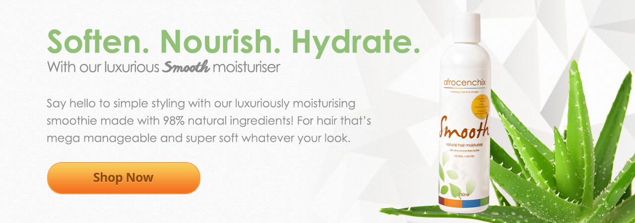 Soften, nourish and hydrate with out luxurious smooth moisturiser for natural hair