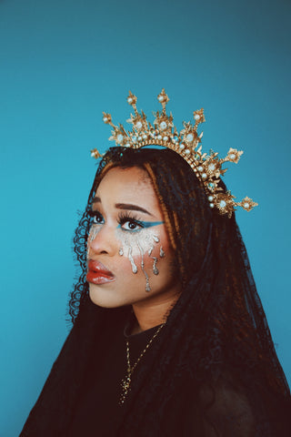 Madonna-inspired locs Halloween hairstyles for natural hair - Afrocenchix Article - simi-iluyomade-hWUYHO7Wbhc-unsplash