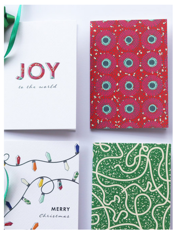 Bonita Ivie Prints - Christmas Cards for Black British Gifts
