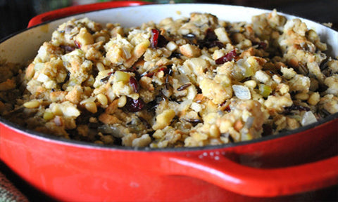 Vegan Stuffing with for healthy Afro Hair