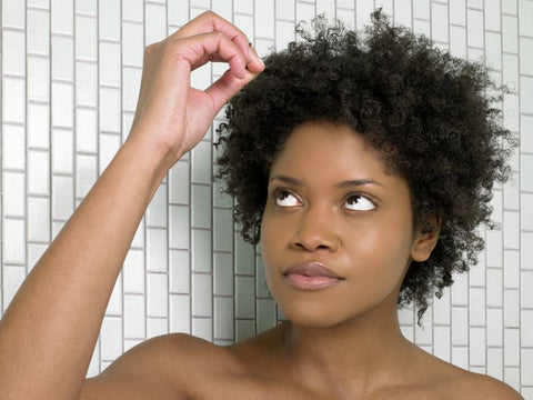 Afro hair scalp problems