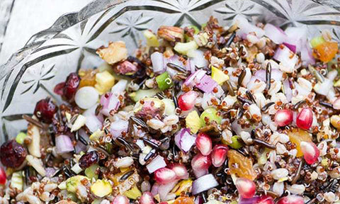 Ancient Grain Salad for healthy Afro Hair