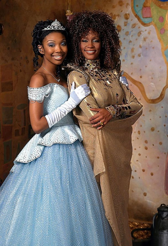 Brandy Instagram Cinderella-inspired Disney hairstyles for natural hair Afrocenchix article