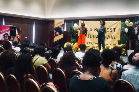 afro hair myth busting workshop