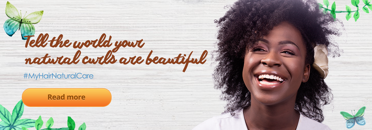 Tell the world your natural curls are beautiful