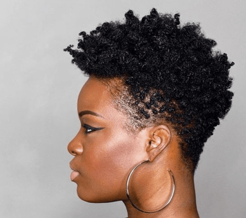afro hairstyles pixie cut black women