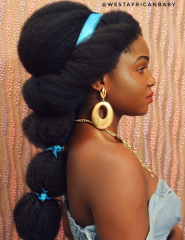 westafricanbaby Instagram Aladin Disney hairstyles for natural hair Afrocenchix article