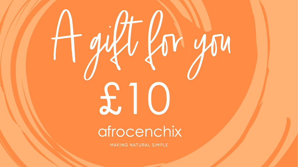Afro Hair Product Gift Card