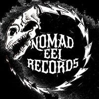 "1.5"" Round Button - Nomad Eel Record Logo"