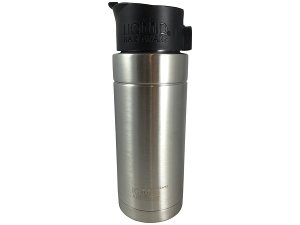 16 ounce Vacuum Insulated Coffee Mug Brushed Stainless