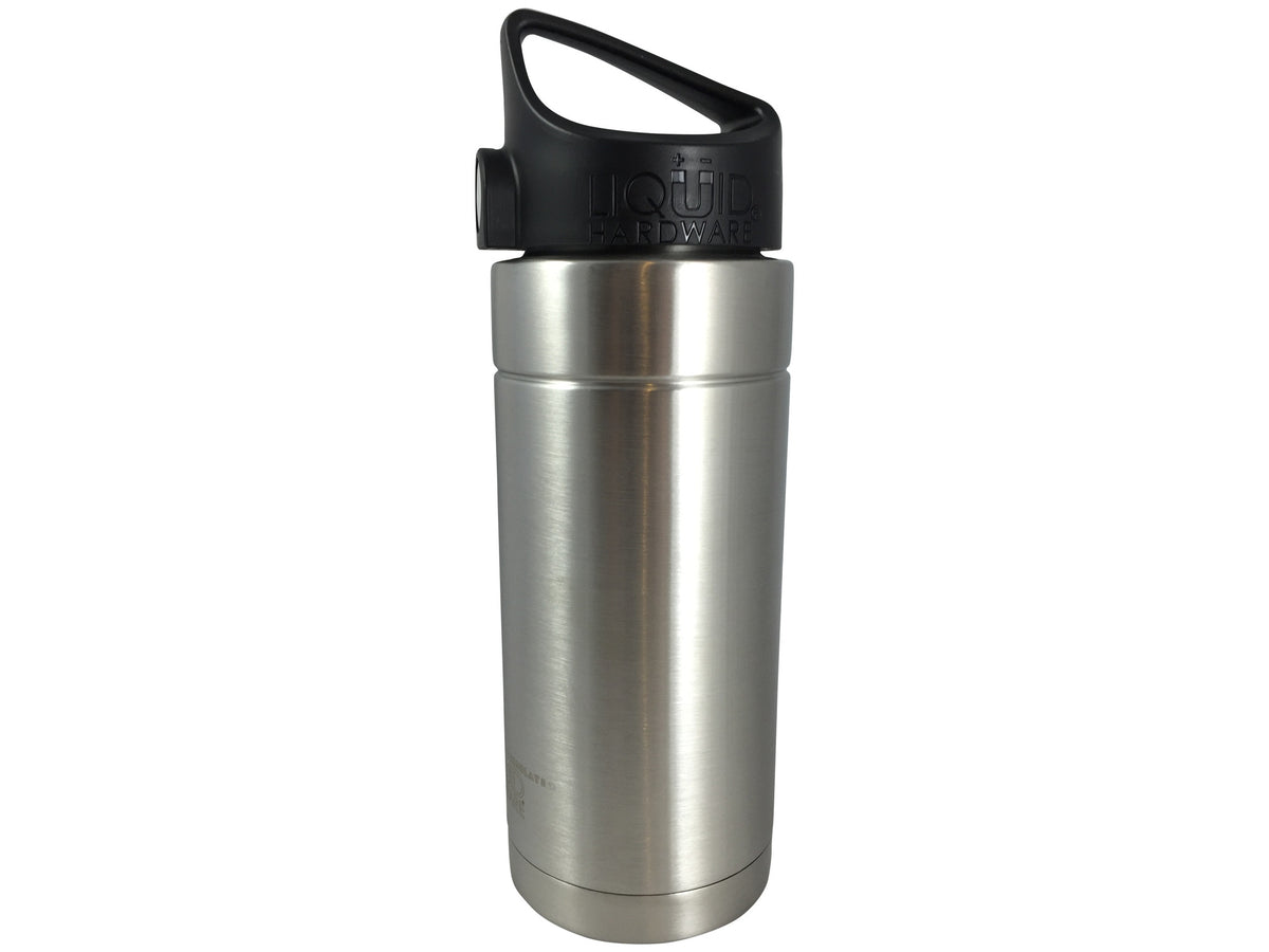 Insulated Water Bottle - Brushed Stainless