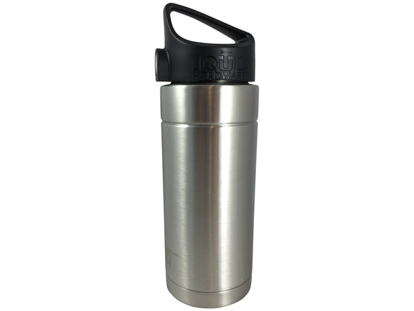 20 oz. Wide Mouth Vacuum Insulated Water Bottle Brushed Stainless