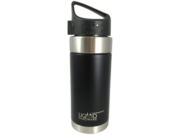16 oz. Wide Mouth Vacuum Insulated Water Bottle Matte Black