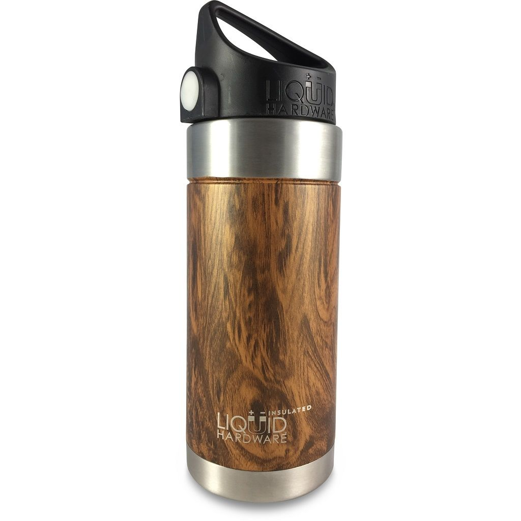 Vacuum Insulated Water Bottle - Koa Wood Grain