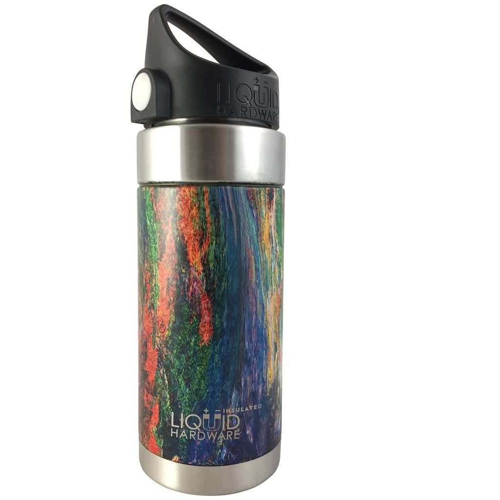 Vacuum Insulated Water Bottle - Melted Colors