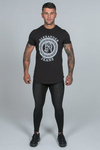 Super Skinny Spray on Jeans – Black Non Ripped