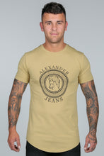 Load image into Gallery viewer, Premium Logo T Shirt – Khaki