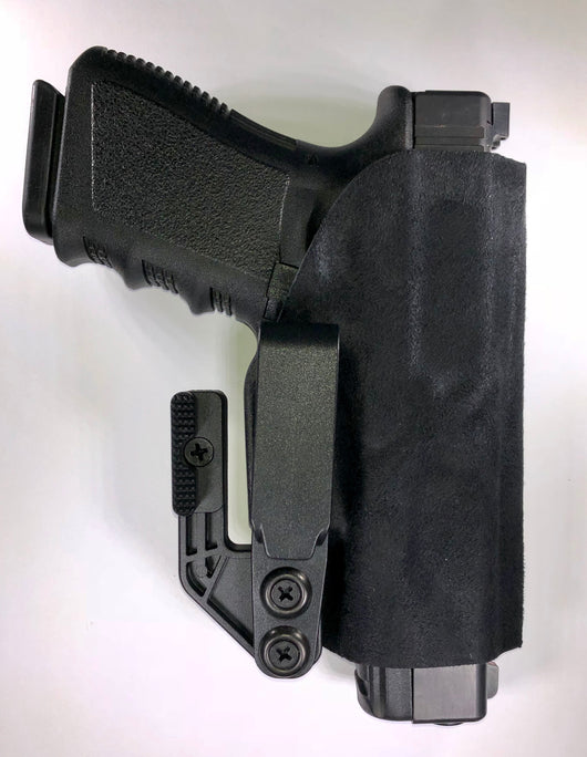 IWB/OWB Slight Holster With Suede