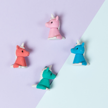 Load image into Gallery viewer, profile of unicorn erasers