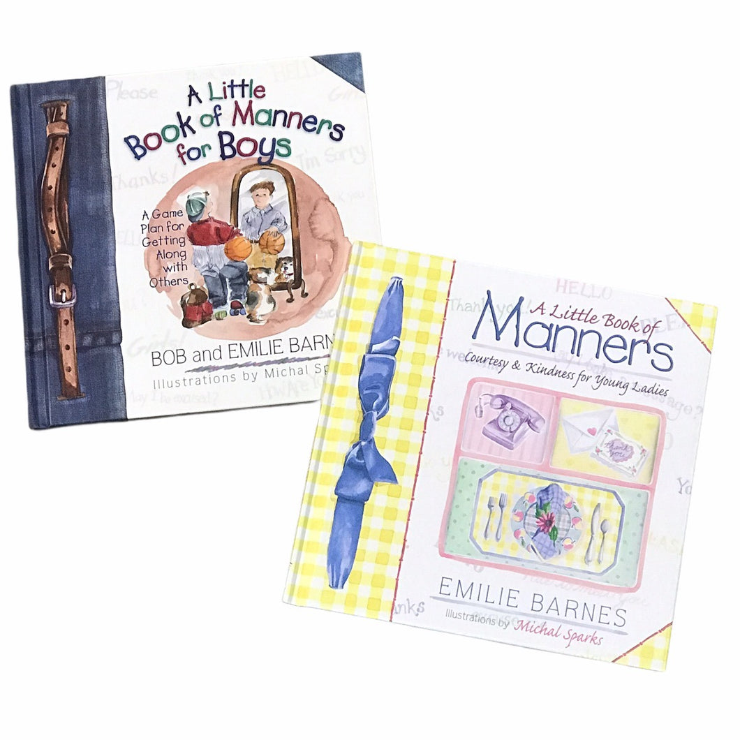 A Little Book of Manners and A Little Book of Manners for Boys