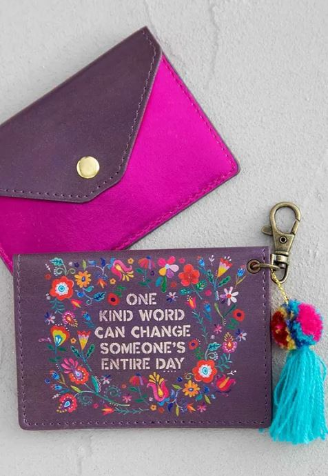 One Kind Word Card Holder