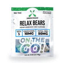 Load image into Gallery viewer, Relax Bears CBD Gummies - 300 mg