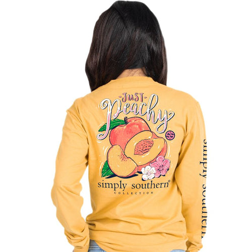 SSC JUST PEACHY LS TEE