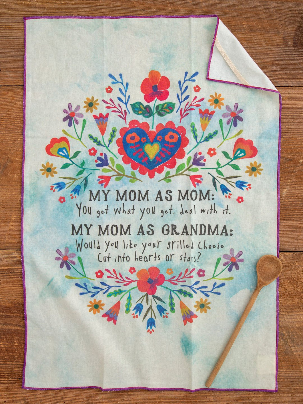 Mom as Mom Towel | Natural Life