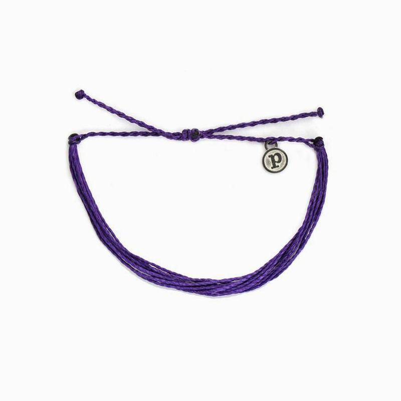 Original Solid Purple Bracelet by Pura Vida