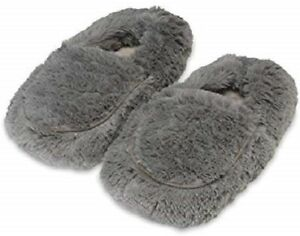 FW-SLI-06 WARMIES GRAY SLIPPER