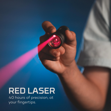 Load image into Gallery viewer, Red Laser: 40 hours of precision, at your fingertips