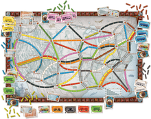 Load image into Gallery viewer, Board Layout of Ticket to Ride Classic