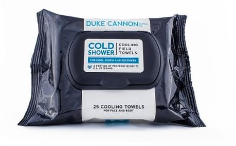 Duke Cannon - Cold Shower Cooling Field Towels - 25ct