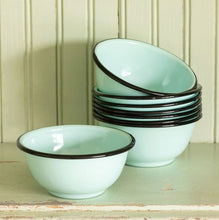 Load image into Gallery viewer, Farmhouse Enamelware Bowl SET OF 4