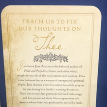 Load image into Gallery viewer, Back of Jane Austen's Book of Prayers