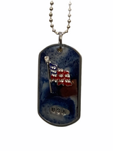 Load image into Gallery viewer, Kate Mesta Dog Tag - USA Flag