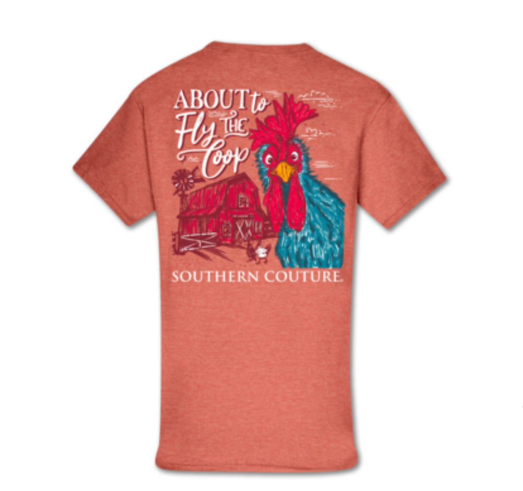 Southern Couture SS Tee - Fly the Coop