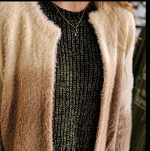 Load image into Gallery viewer, Mocha Latte Ombré Cardigan