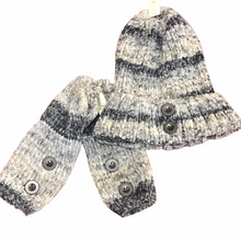 Load image into Gallery viewer, Knit Infinity, Hat and Wristlets