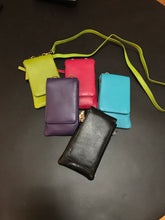 Leather Phone Wallet & Crossbody