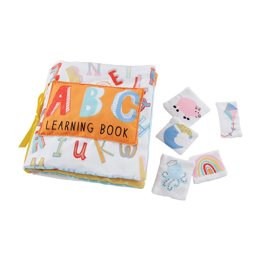 Mud Pie ABC Learning Book - Washable