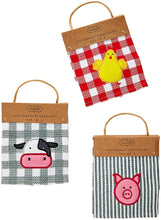 Load image into Gallery viewer, Farm Happy Scrubber Kitchen Cloths