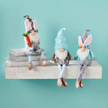 Load image into Gallery viewer, easter dangle leg gnomes by mud pie