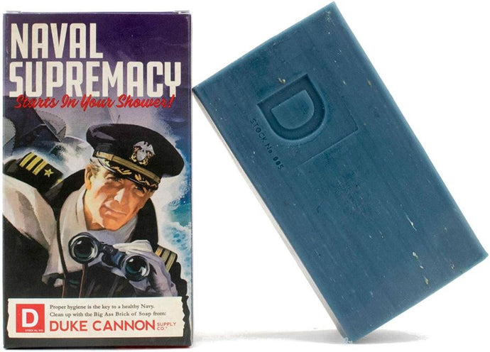 Men's Soap - Duke Cannon - Big Ass Brick of Soap - Smells Like Naval Supremacy