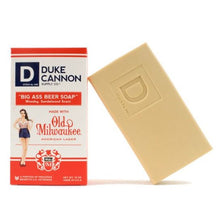 Load image into Gallery viewer, Men's Soap - Duke Cannon - Big Ass Beer Soap - Old Milwaukee American Lager